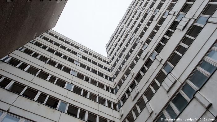 Deutschland Verlassene Orte in Berlin Haus der Statistik