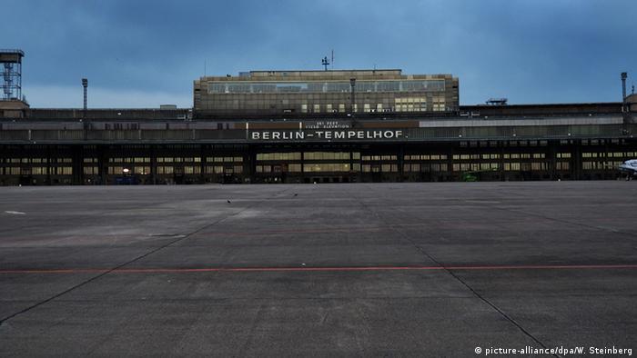 Deutschland Verlassene Orte in Berlin Flughafen Tempelhof