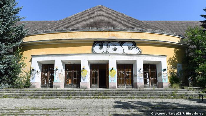 Deutschland Verlassene Orte in Berlin Wünsdorf ehemaliges Kasernengebäude