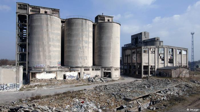 Deutschland Verlassene Orte in Berlin Rüdersdorf Chemiewerk