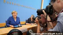 90 Minuten lang stellte sich Merkel am Donnerstag den Fragen der Hauptstadt-Journalisten