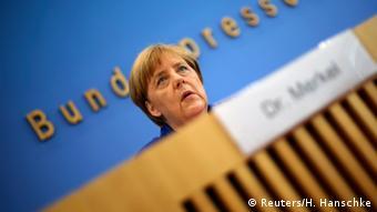 Ангела Меркель на пресс-конференции, 28 июля