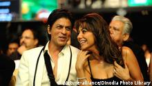 Bollywood Schauspieler Shah Rukh Khan mit Frau Gauri