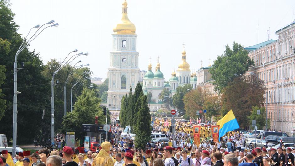 Kreuzgang der Ukrainischen orthodoxen Kirche