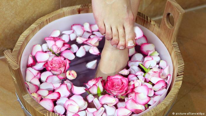 Ноги в воду