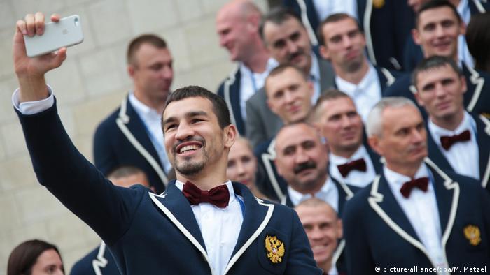 Олимпийская форма сборной России