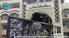 Syrien Al-Nusra-Front Twitter-Bild Kämpfer in Idlib