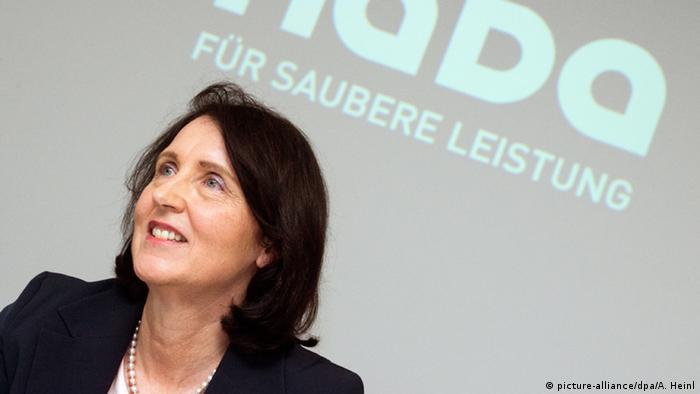Глава Национального антидопингового агентства Германии (NADА) Андреа Гоцман