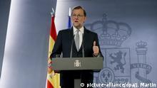 Spanien Premierminister Mariano Rajoy mit Regierungsbildung beauftragt