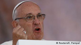 Polen Weltjugendtag 2016 in Krakau Papst Franziskus ruft die Jugend zu Rebellion und Barmherzigkeit auf