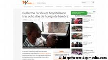 Screenshot Website 14ymedio.com