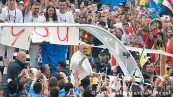 Polen Weltjugendtag 2016 in Krakau Papst Franziskus