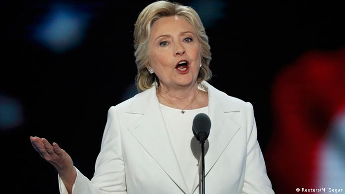 Hillary Clinton Democratic National Convention USA Rede
