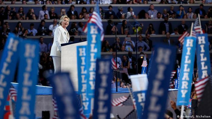 Hillary Clinton Democratic National Convention USA