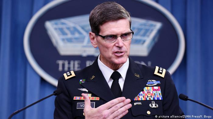 US-General Joseph Votel (picture alliance/ZUMA Press/Y. Bogu)