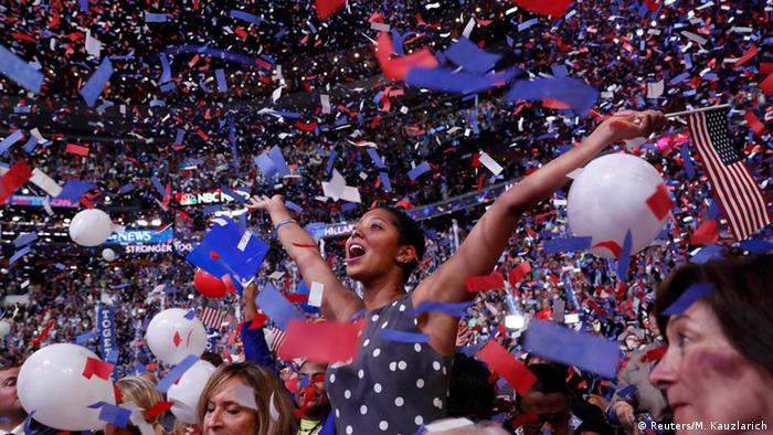 USA Nominierungsparteitag der Demokraten in Philadelphia (Reuters/M. Kauzlarich)