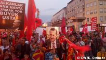 Mazedonien Pro-Erdogan Demonstration in Skopje