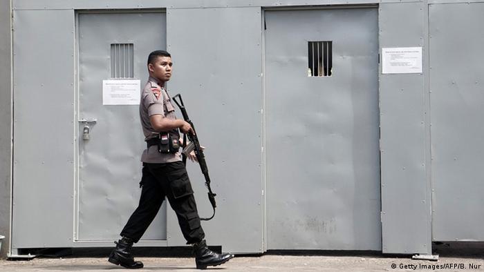Indonesien Todesstrafe Gefängnis
