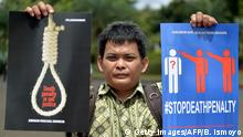 Indonesien Todesstrafe Portest