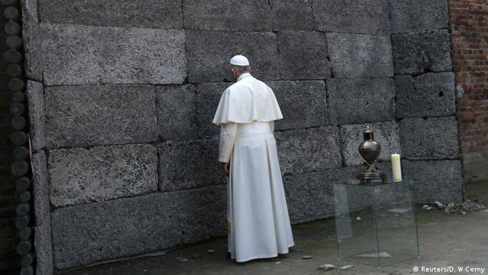 Pope at Auschwitz