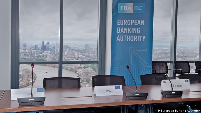 Großbritannien Europäische Bankenaufsicht in London (European Banking Authority)
