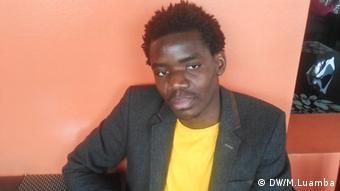 Angolanischer Aktivist Nuno Dala (DW/M.Luamba)