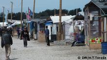 Flüchtlingscamps Dschungel in Calais