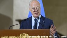 De Mistura in Genf (Foto: picture alliance/AP Photo/M. Trezzini)