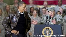 Afghanistan General David Petraeus und Barak Obama