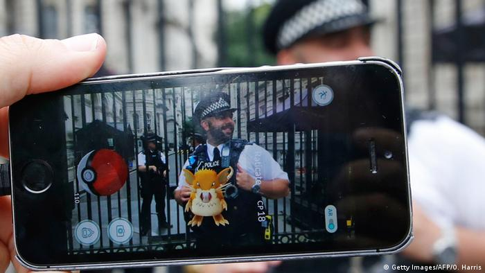 Pokemon Go England (Getty Images/AFP/O. Harris)