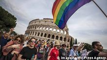 Italien Gay Pride in Rom