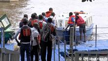 Nigeria Unsichere Mini-Boote
