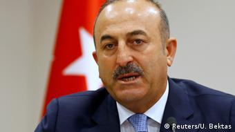 Türkei Aussenminister Mevlut Cavusoglu