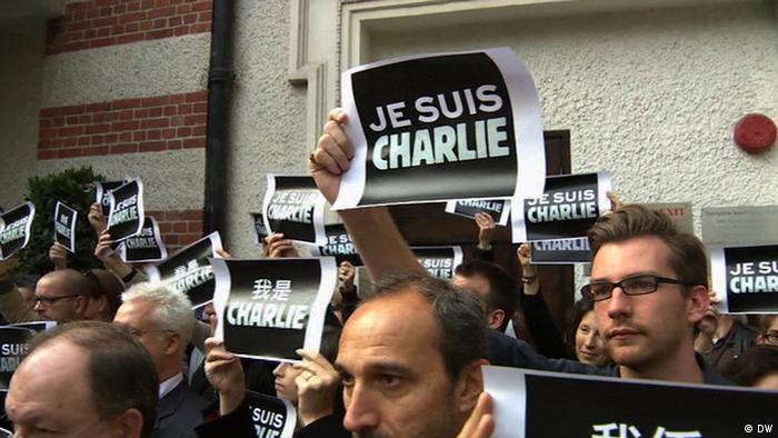 Follow the Hashtag Je Suis Charlie (DW)