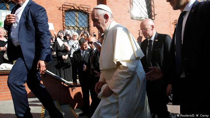Pope Francis in Krakow