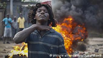 Burundi Gewalt ARCHIVBILD