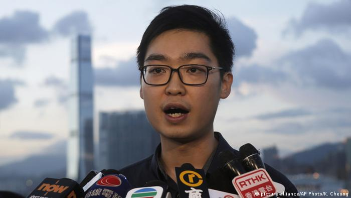 Hong Kong activist Andy Chan (picture-alliance/AP Photo/K. Cheung)