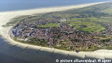 The island of Borkum, where one of the notorious homes was (picture alliance/dpa/I. Wagner)