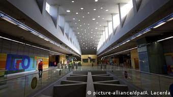 Новая станция метро, построенная в Рио к Олимпиаде