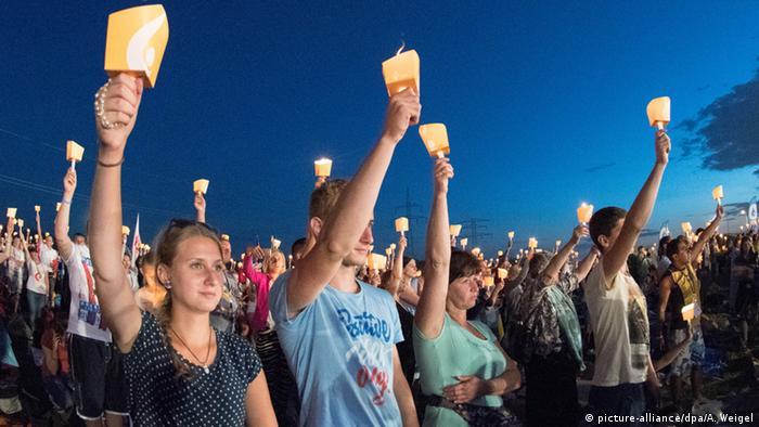 Polen Weltjugendtag Nachtgebet in Krakau