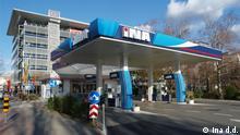 Kroatien Zagreb Kroatische Mineralölgesellschaft INA