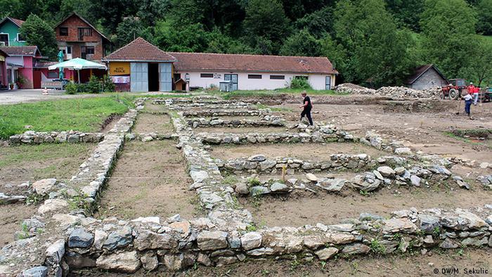 Bosnien und Herzegowina - Die römische Mosaiken in Srebrenica