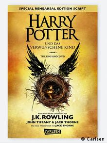 Harry Potter and the Cursed Child Theater Premiere Buchcover