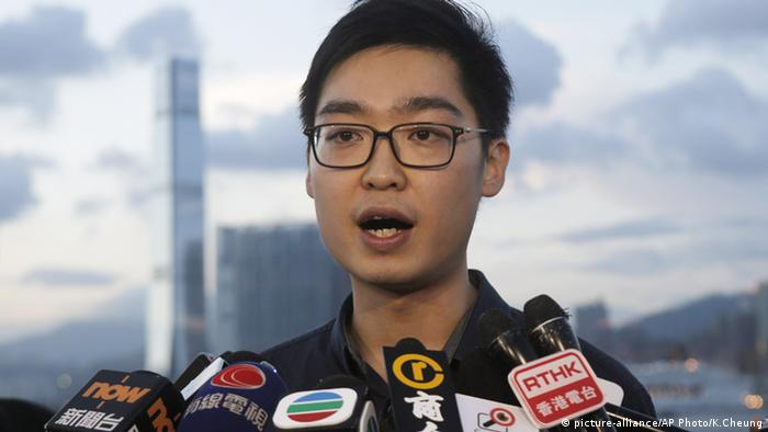 Andy Chan Ho-tin China Hong Kong Nationalisten Partei (picture-alliance/AP Photo/K.Cheung)