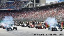 Deutschland Formel 1 Großer Preis von Deutschland Hockenheimring Ring Start