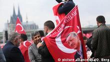 Deutschland Köln Pro-Erdogan-Demonstration