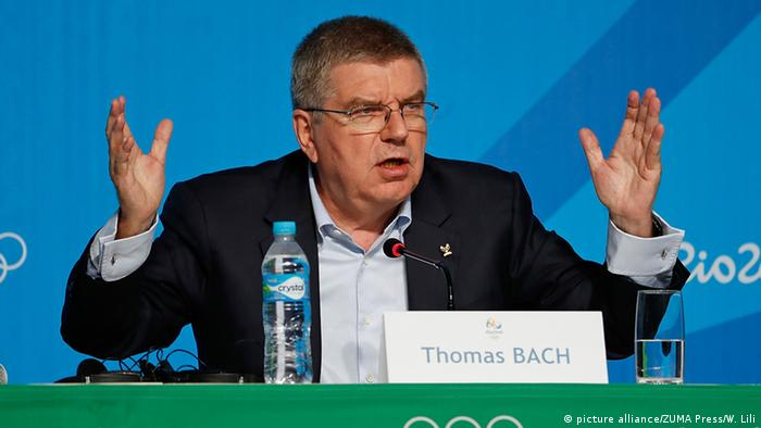 Brasilien Thomas Bach (picture alliance/ZUMA Press/W. Lili)