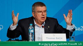 Brasilien Thomas Bach (Foto: picture alliance/ZUMA Press/W. Lili)