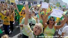 Brasilien Proteste gegen Rousseff