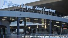 04.12.2013 ITAR-TASS: ST PETERSBURG, RUSSIA. DECEMBER 4, 2013. Outside view of a new passenger terminal at the Pulkovo Airport. (Photo ITAR-TASS / Ruslan Shamukov) Copyright: picture-alliance/dpa/ITAR-TASS/S. Ruslan